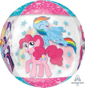 "15""x16"" ORBZ MY LITTLE PONY CLEAR (PK)"