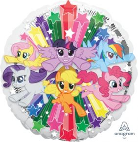 "17"" RND MY LITTLE PONY GANG"