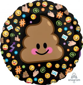 "17"" RND LOL EMOTICON (PK) *DiscontinuedBC"
