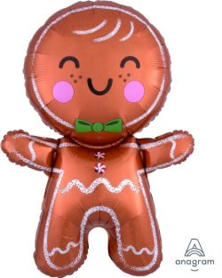 "22""x31"" HAPPY GINGERBREAD MAN (PK)"