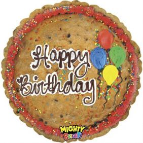 """21"""" SHAPE MIGHTY PIC COOKIE CAKE (PK)"""