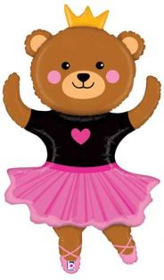 "48"" SHAPE DANCE BEAR (PK)"