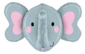 "27"" MULTI SIDED ELEPHANT 3D (PK)"