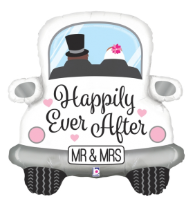 "31"" HAPPILY EVER AFTER CAR (PK)"