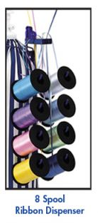 8-SPOOL RIBBON DISPENSER