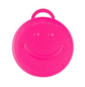 100GM HEAVY HAPPY WEIGHT HOT PINK 10CT