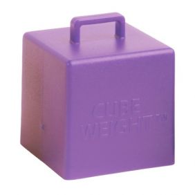 65GM CUBE WEIGHT LILAC 10CT