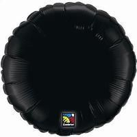 "04"" RND ONYX BLACK PLAIN FOIL"