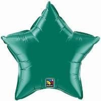 "09"" STAR EMERALD GREEN PLAIN FOIL"
