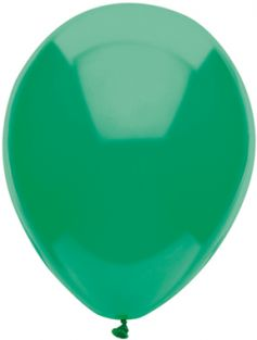 "11"" RND GREEN FUNTEX 100CT"