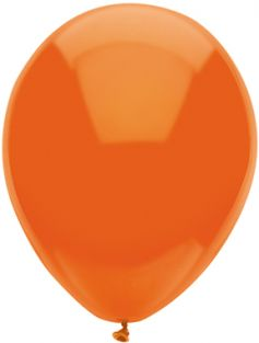 "11"" RND ORANGE FUNTEX 100CT"