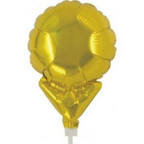 "05"" UPRIGHT MTL GOLD PLAIN FOIL"