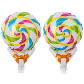 "05"" UPRIGHT COLORFUL CANDY FOIL"