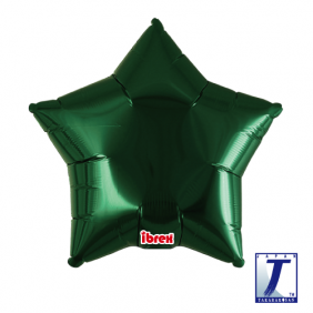 "15"" STAR MTL GREEN FOIL"