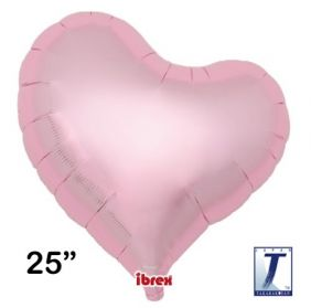 "25"" HRT SWEET MTL LIGHT PINK PLAIN FOIL"