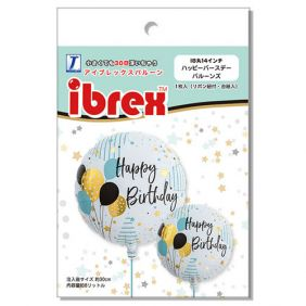 "14"" RND HAPPY BIRTHDAY BALLOON (PK)"