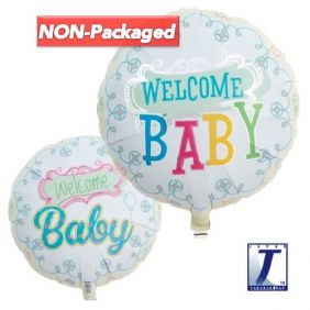 """14"""" RND WELCOME BABY (NP)"""