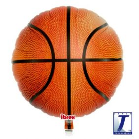 "14"" RND BASKETBALL FOIL"