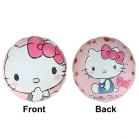 "18"" RND STRAWBERRY KITTY FLAT FOIL"