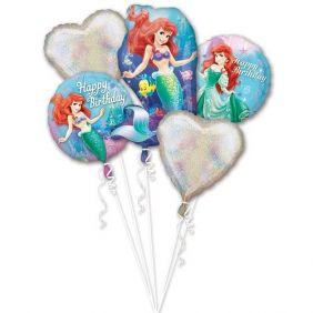BOUQUET-LITTLE MERMAID HAPPY BDAY