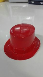 MINI HAT RED (SMALL)