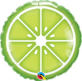 "18"" RND SLICED LIME (PK)"