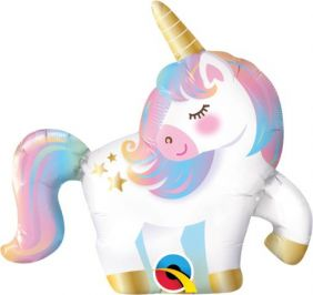 "14"" MINI UNICORN FLAT FOIL"