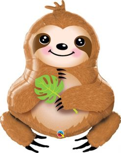 "39"" SHAPE SWEET SLOTH (PK)"
