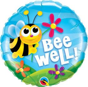 "18"" RND BEE WELL! FLOWERS (PK)"
