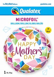 """18"""" RND MOTHER'S DAY COLORFUL GEMS (PK)"""