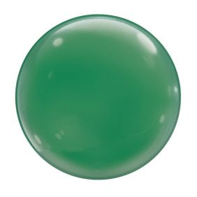 "15"" GREEN SOLID-COLOR BUBBLES (4PC/PK)"