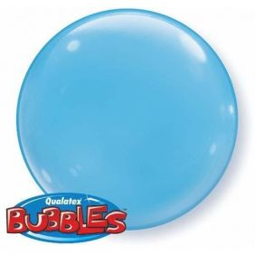 "15"" PALE BLUE SOLID-COLOR BUBBLES (4PC/PK)"
