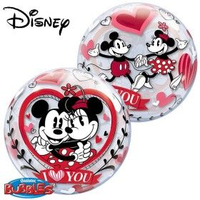 "22"" DN MICKEY & MINNIE I LOVE YOU (PK)"