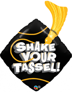 "37"" SHAPE SHAKE YOUR TASSEL! (PK)"