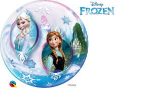 "22"" FROZEN (PK) SINGLE BUBBLE"