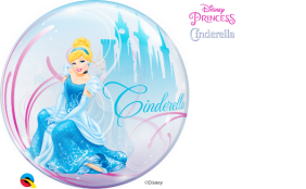 "22"" CINDERELLA'S ROYAL DEBUT S.BUBBLE PK"