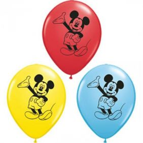 "05"" RND MICKEY MOUSE FC AST 100CT"