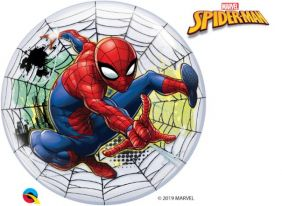 "22"" PKG SPIDER-MAN BUBBLES BALLOON"