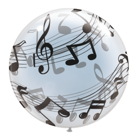 "22"" T-BALLOONS MELODY (490MM) 10CT"