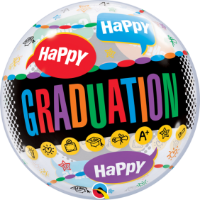 "22"" HAPPY GRADUATION CONGRATS GRAD(PK)"