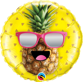 "18"" RND MR. COOL PINEAPPLE(PK)"