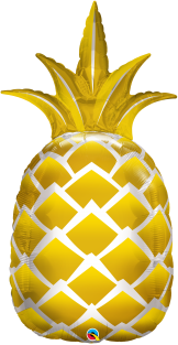 "44"" SHAPE GOLDEN PINEAPPLE (PK)"