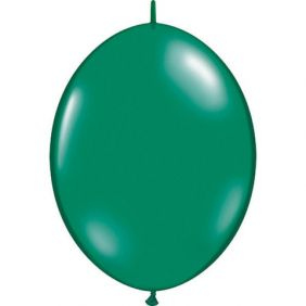 "12"" QLINK EMERALD GREEN 50CT"