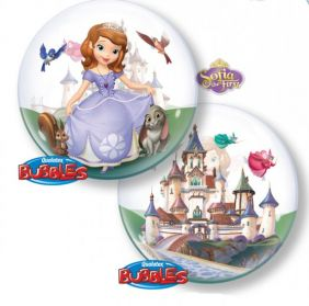 "22"" SOFIA THE FIRST (PK) SINGLE BUBBLE"