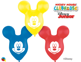 "15"" MOUSEHEAD MICKEY EARS AST 25CT"