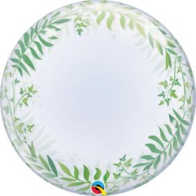 "24"" DECO BUBBLE ELEGANT GREENERY (PK)"