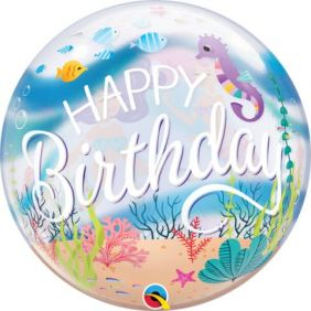 "22"" SB MERMAID BIRTHDAY PARTY (PK)"