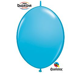 "06"" QLINK ROBIN'S EGG BLUE 50CT"