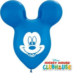 "15"" TMH MICKEY EARS DARK BLUE 25CT"
