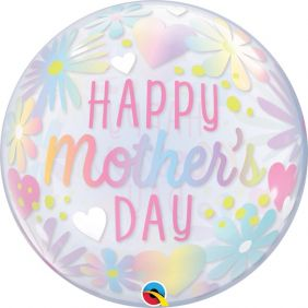 "22"" MOTHER'S DAY FLORAL PASTEL (PK)"